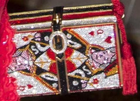 Queen Silvia's Queen of Hearts clutch