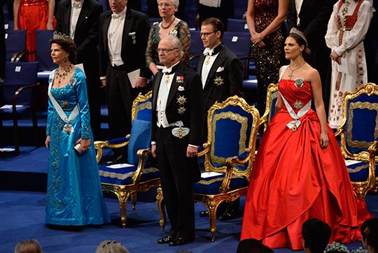 Silvia, Carl XVI Gustaf, Victoria Nobel Prize Ceremony