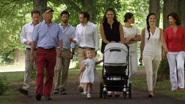 Swedish Royal Family SVT Aret med Kungafamiljen