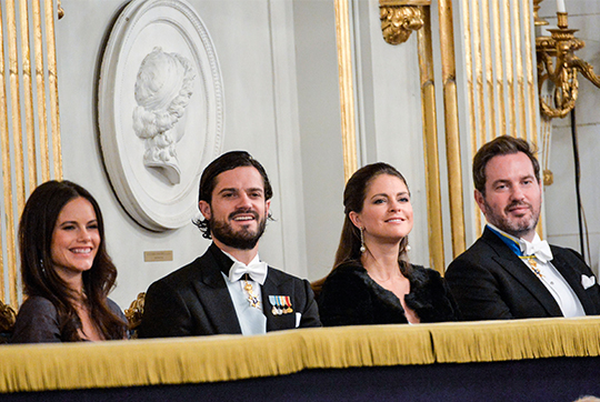 Swedish Royal Family at Swedish Academy formal gathering 2
