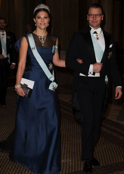 Victoria and Daniel Nobel Laureates Dinner