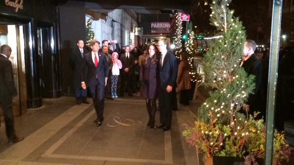 Will and Kate arrive at Carlyle Hotel 1