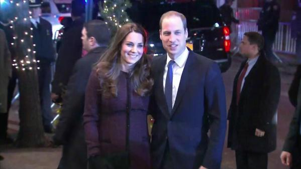 Will and Kate arrive at Carlyle Hotel 2