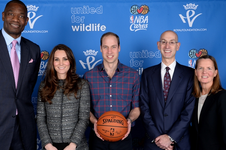 Will and Kate launch United for Wildlife and NBA program