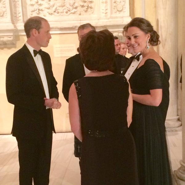 William and Kate at St. Andrews Gala
