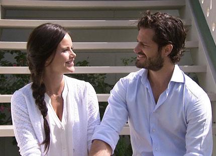 Carl Philip and Sofia SVT Aret med Kungafamiljen