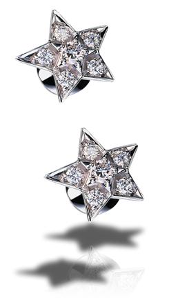 Chanel 'Comète' stud earrings