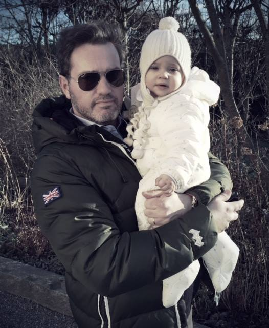 Chris O'Neill and Princess Leonore New Years