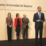 Felipe gives speech at Museum University of Navarra