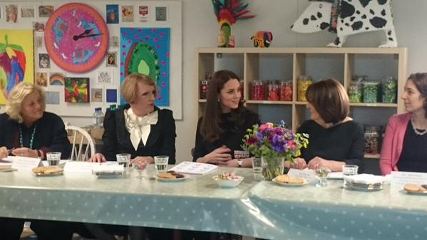 Kate takes part in round table discussion 2