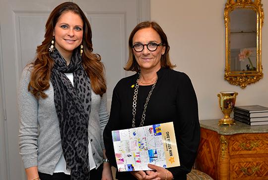 Princess Madeleine gives preference for Hélène Benno