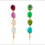 TOUS 'Beethoven' multi colored earrings