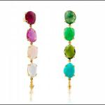 TOUS 'Beethoven' multi colored earrings
