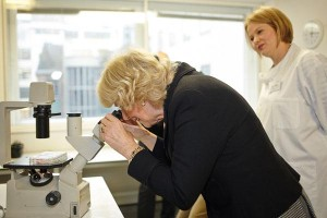 Camilla visits Arthritis Research UK