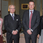 Crown Princess Victoria at lunch for Interior Minister