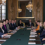 Crown Princess Victoria attends Advisory Council meeting