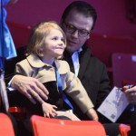 Daniel and Estelle watch European Figure Skating Championships