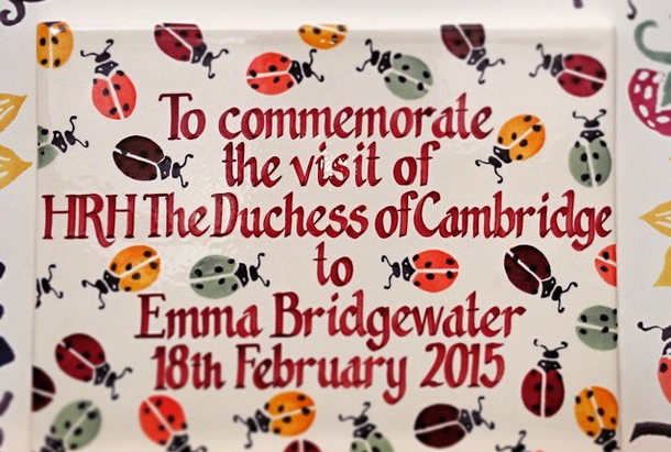 Kate Emma Bridgewater plaque small