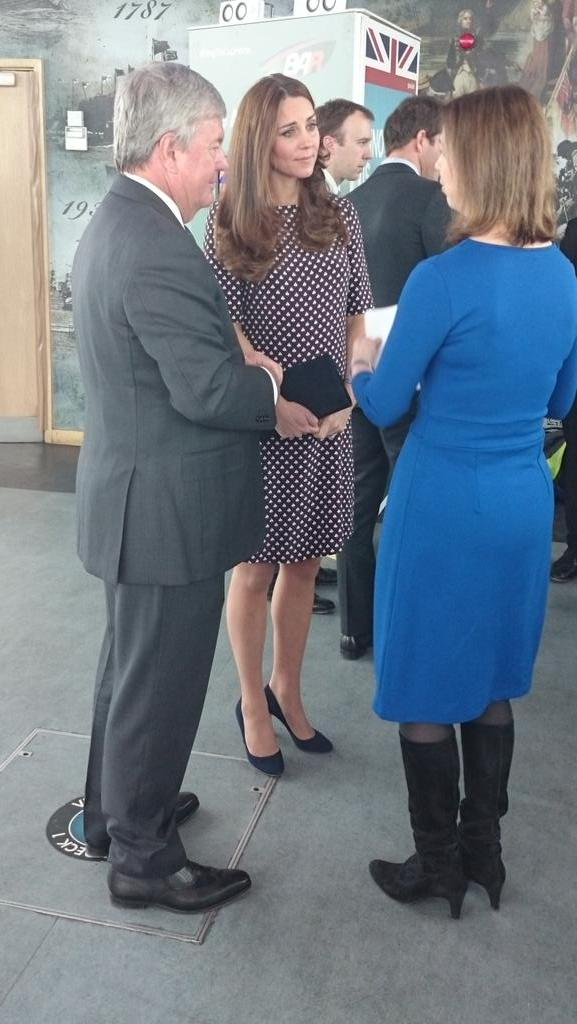 Kate meets teachers and pupils benefitting from work of 1851 Trust 2
