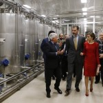 Letizia and Felipe tour Cavas Freixenet 2