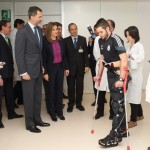 Letizia and Felipe visiting National Hospital for Paraplegics 2