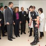 Letizia and Felipe visiting National Hospital for Paraplegics 2