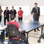 Letizia and Felipe visiting National Hospital for Paraplegics 3