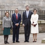 Letizia at Delivery of Gold Medals 1