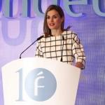 Letizia gives speech at Fundéu