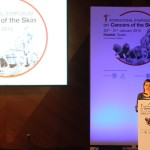 Letizia gives speech at skin cancer symposium