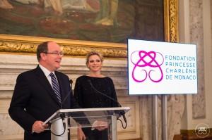 Cocktail de la Fondation Princesse Charlène de Monaco