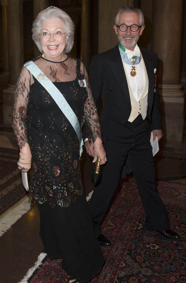 Princess Cristina at official dinner
