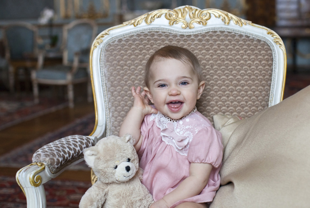 Princess Leonore 1st Birthday Photo 1