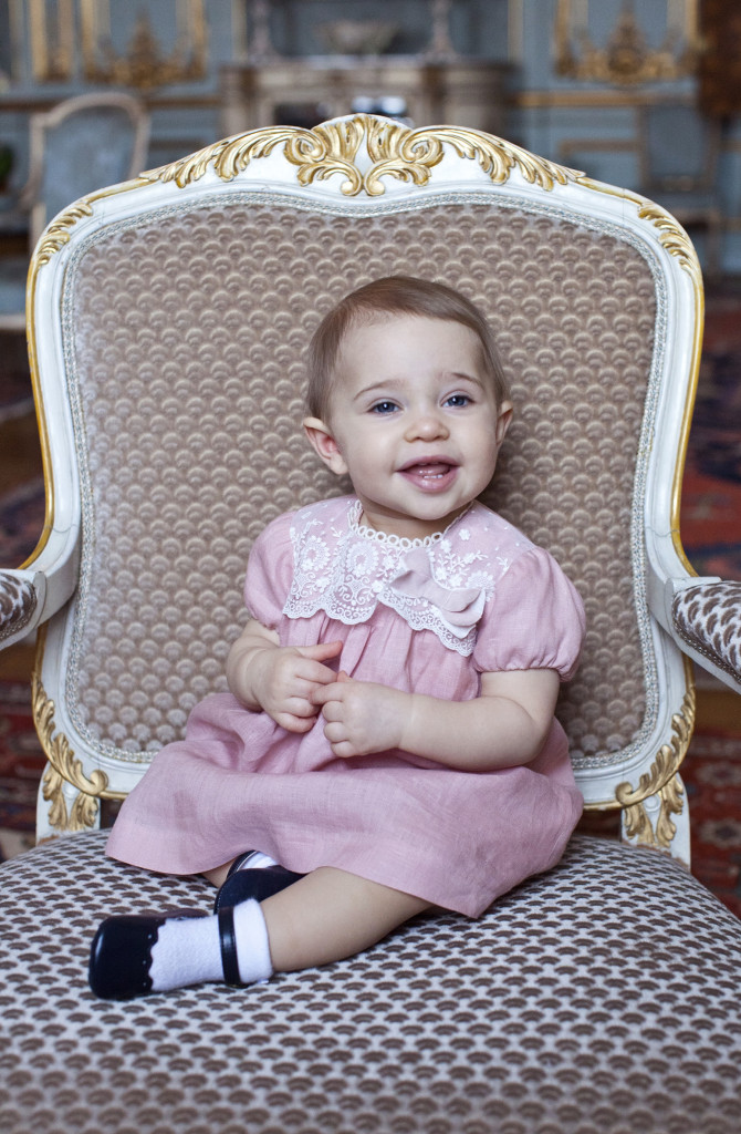 Princess Leonore 1st Birthday Photo 2