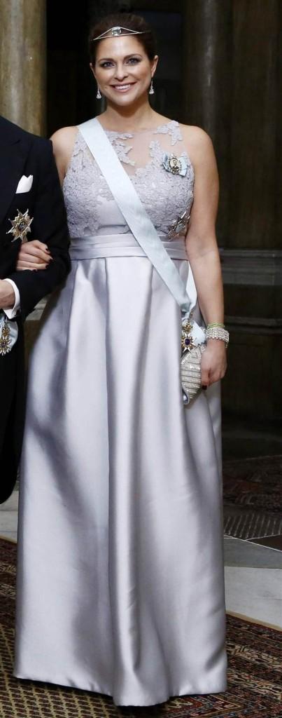 Princess Madeleine at official dinner