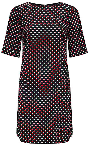 Somerset by Alice Temperley Boat Print shift dress