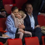Victoria, Daniel and Estelle watch European Figure Skating Championships