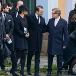 Victoria and Daniel at funeral for Peter Wallenberg