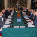Victoria attends information cabinet meeting