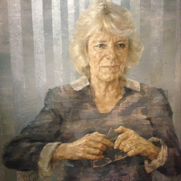 portrait of Camilla by Jonathan Yeo at Laing Art Gallery