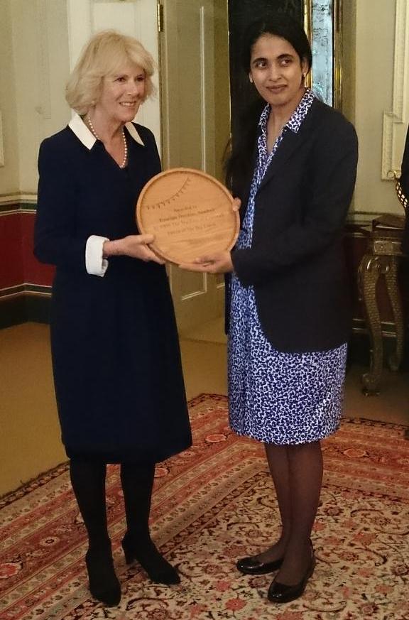 Camilla presents The Big Lunch award