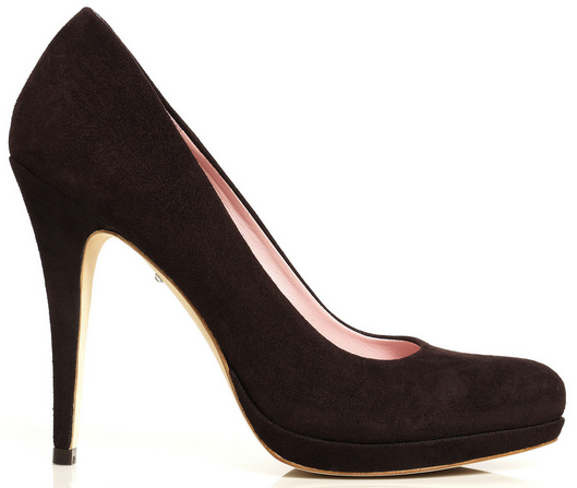Emmy Shoes Valerie Chocolate brown pumps