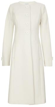 Jojo Maman Bebe Cream Princess Line Maternity Coat