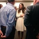 Kate visiting ealing studios