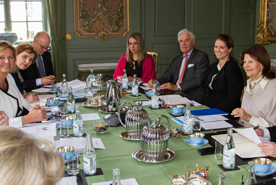 Princess Madeleine attends World Childhood Foundation meeting