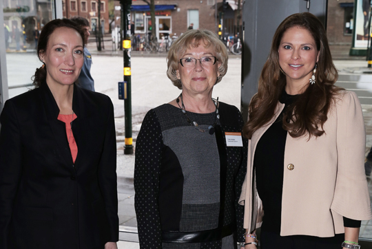 Princess Madeleine attends conference on human trafficking