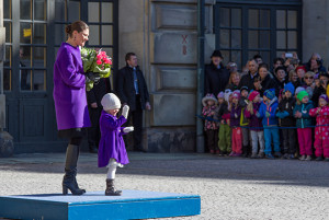 Victoria and Estelle Crown Princess Name Day
