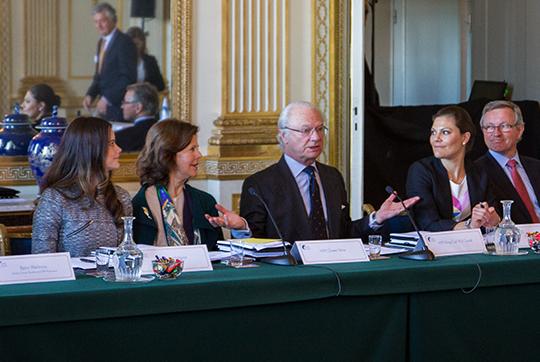 Crown Princess Victoria and Sofia Hellqvist Global Child Forum