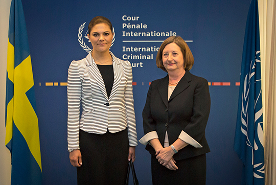 Crown Princess Victoria at the Hague 1