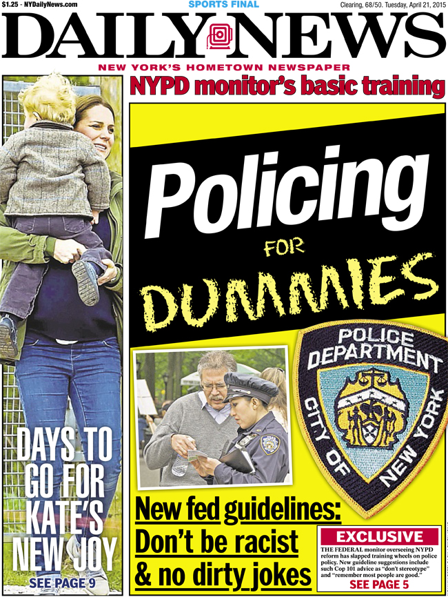 Kate and George cover Daily News